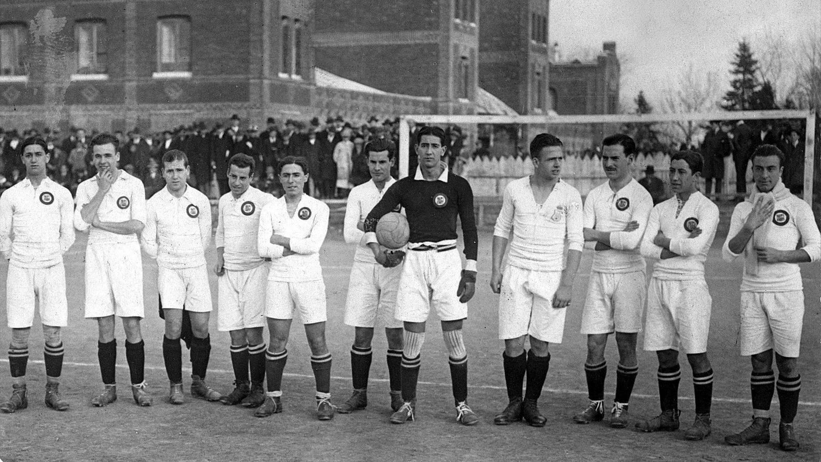Реал Мадрид 1902 год