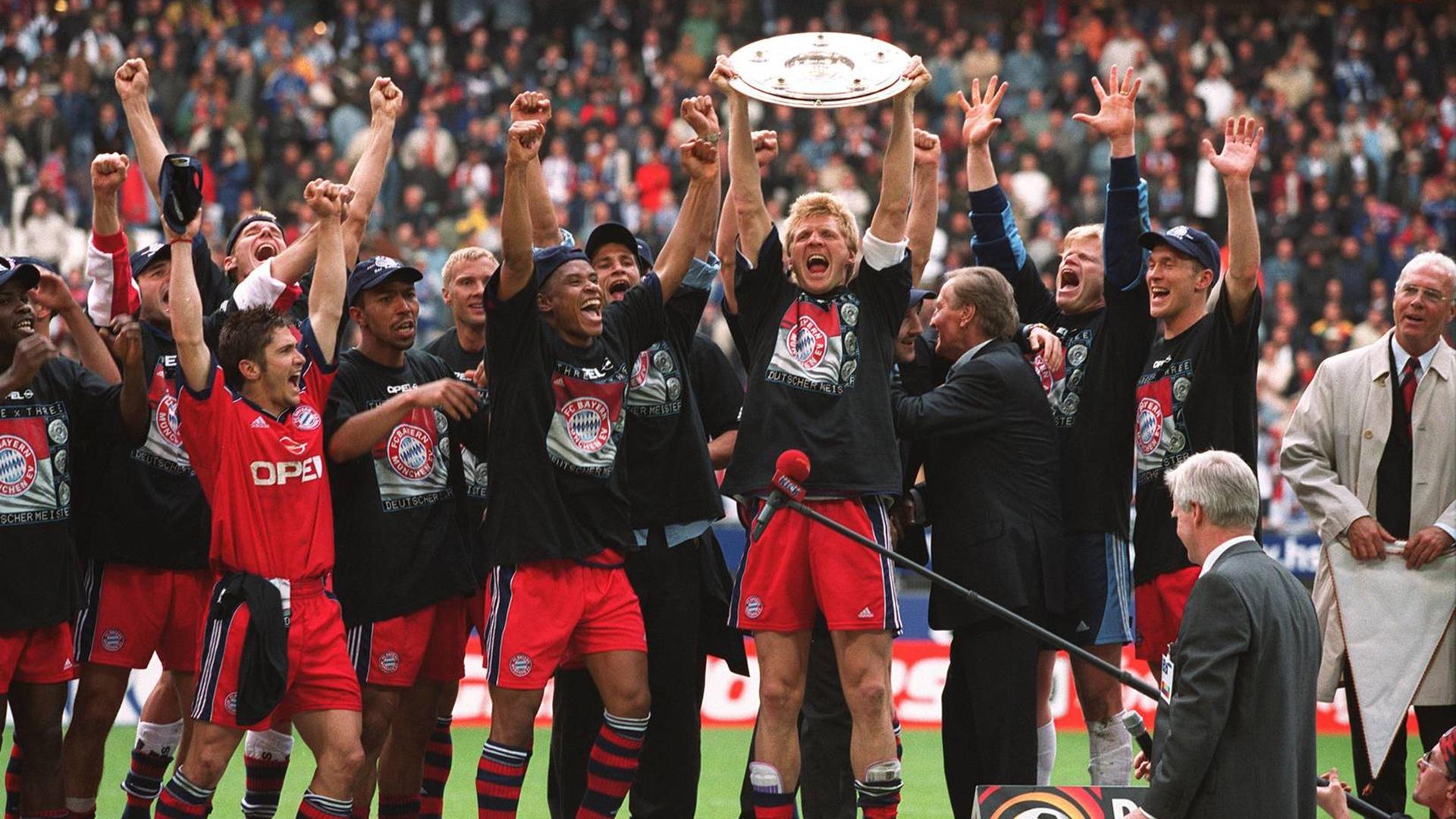 Бавария - чемпион Германии 2000/2001