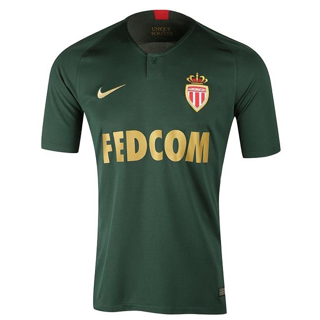 """Гостевая футболка """"Монако"""" сезона 2018-19"""