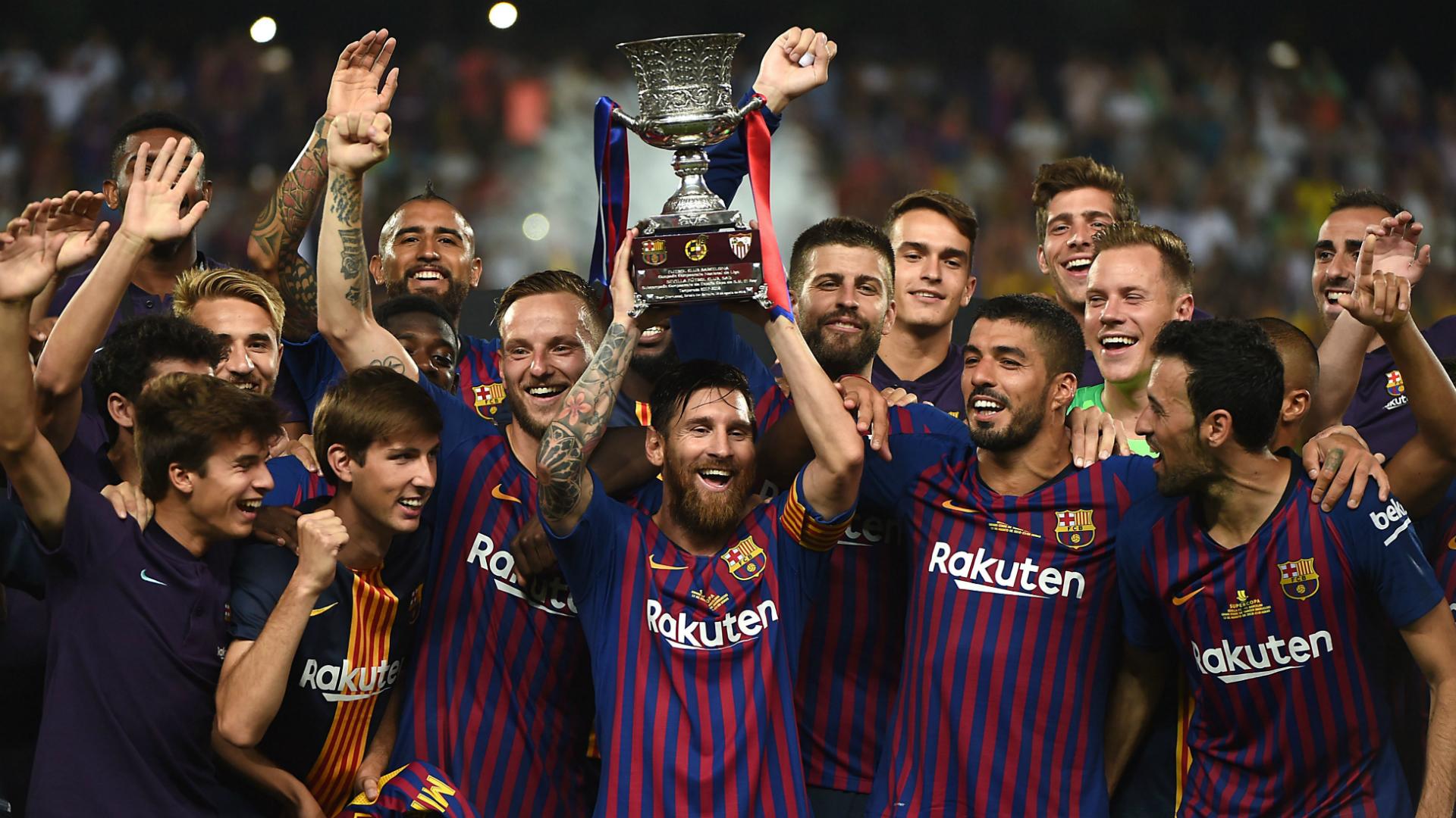 Барселона, суперкубок Испании