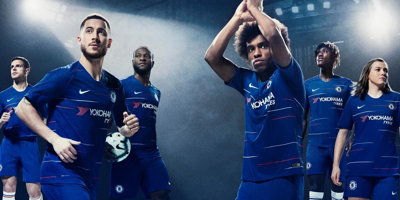 Новая домашняя форма Челси 2018 2019