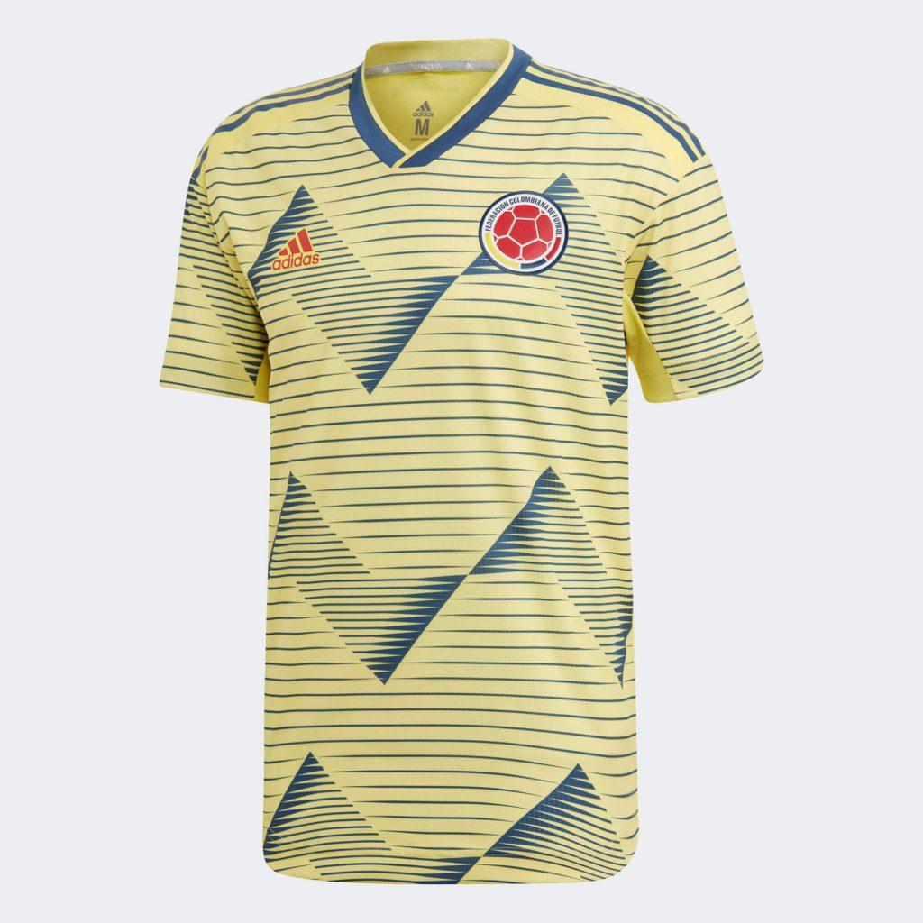 Домашняя футболка сборной Колумбии 2019