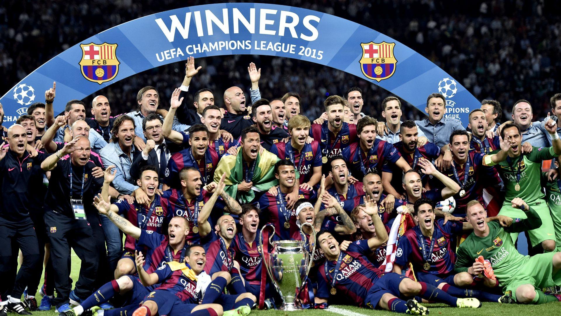 Барселона - победитель ЛЧ 2015