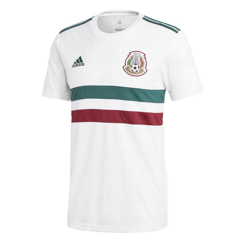 Выездная форма сборной Мексики