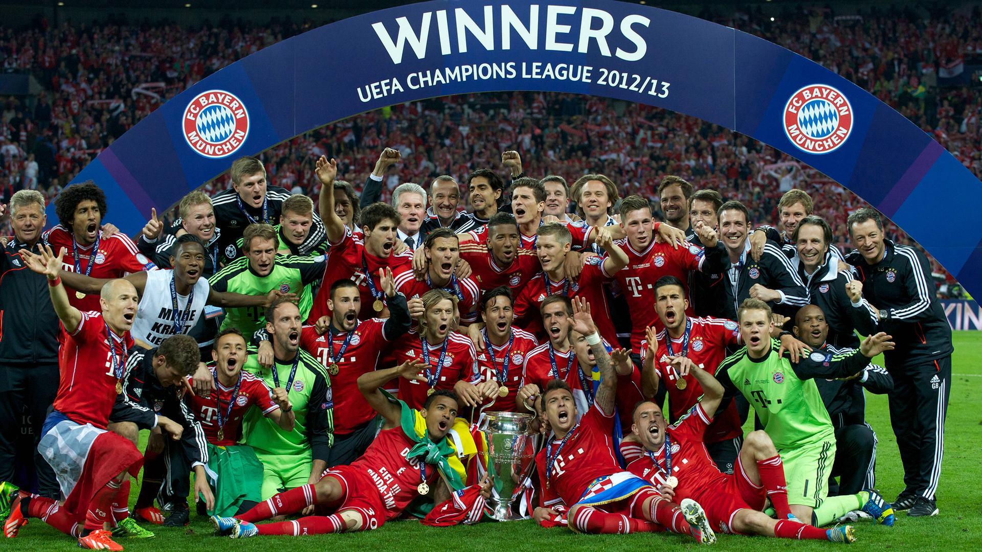 Бавария - победитель Лиги Чемпионов 12/13